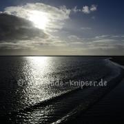 Sandbank Borkum im Abendlicht (5229)