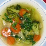 Suppe mit Bärlauch gewürzt (0669)